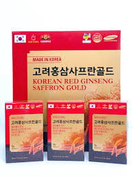 Hồng sâm nghệ tây Saffron Hàn Quốc