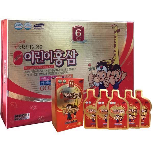 Nước hồng sâm trẻ em hươu cao cổ - Kid's Red Ginseng Gold
