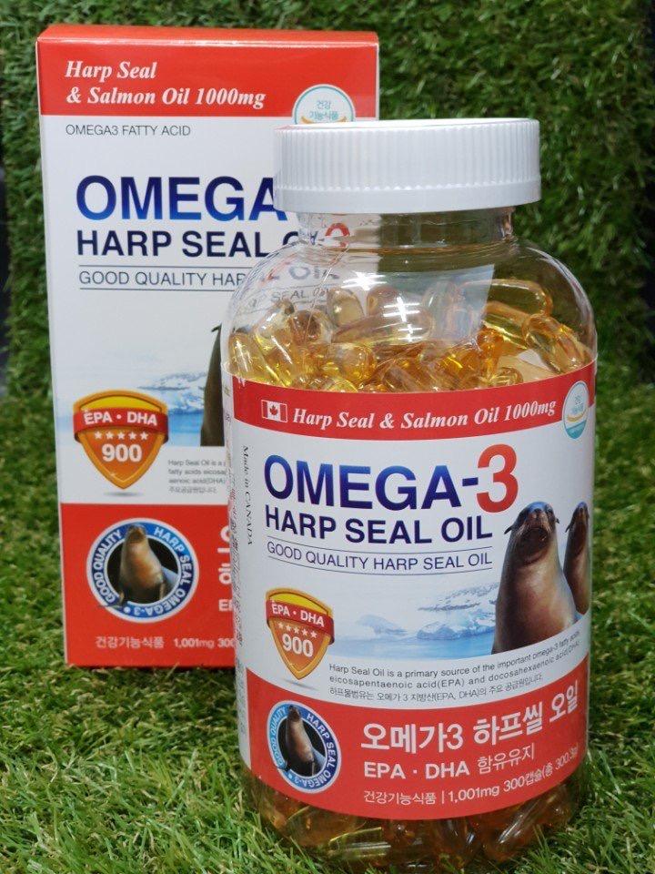 omega-3 (Tinh dầu hải cẩu) 1011mg/viên- hộp đỏ